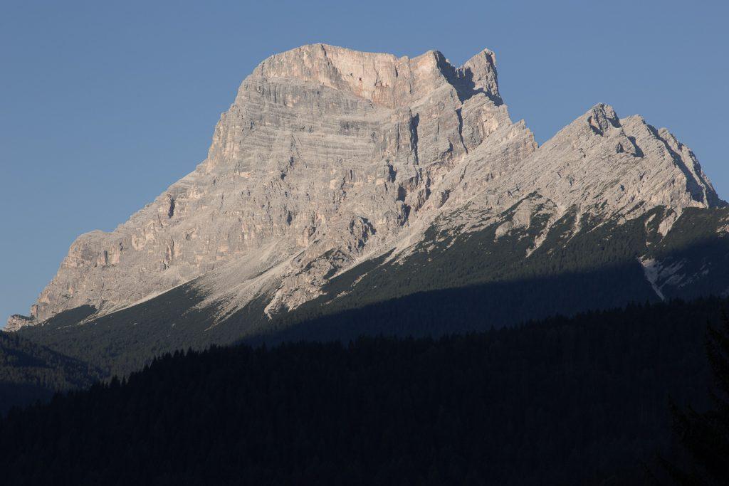 il monte Pelmo d'estate