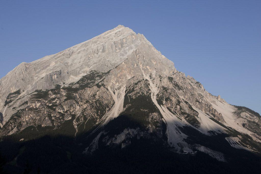 il monte Antelao d'estate