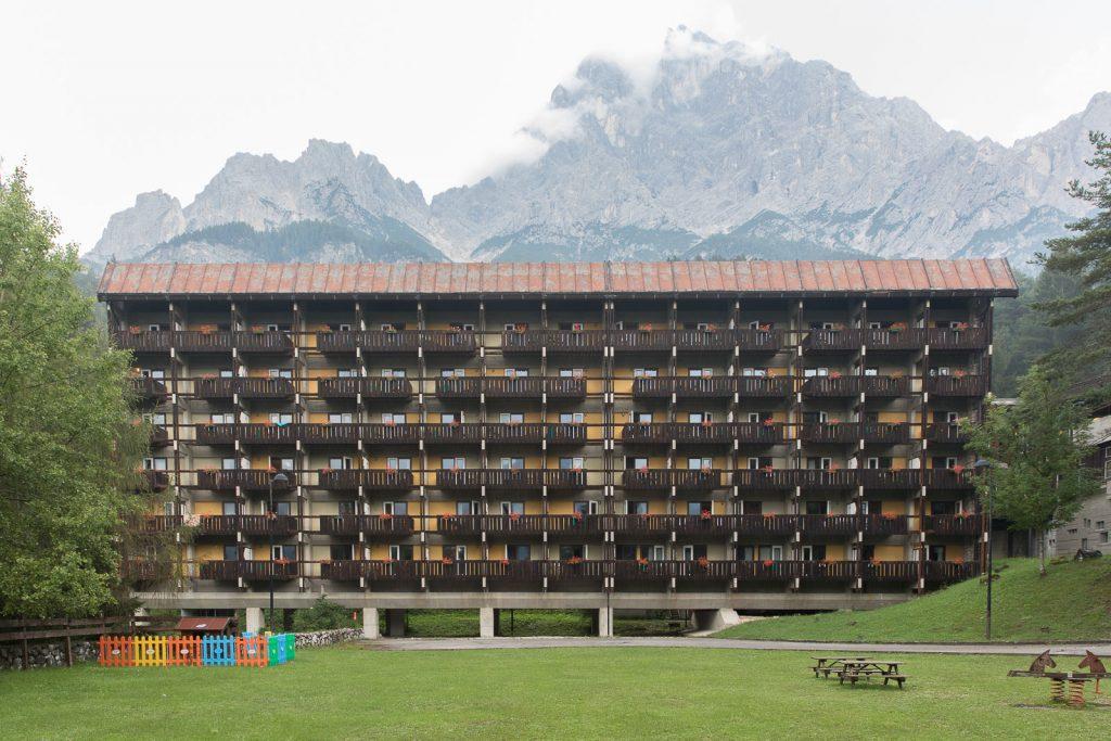 albergo del Villaggio Eni di Borca di Cadore