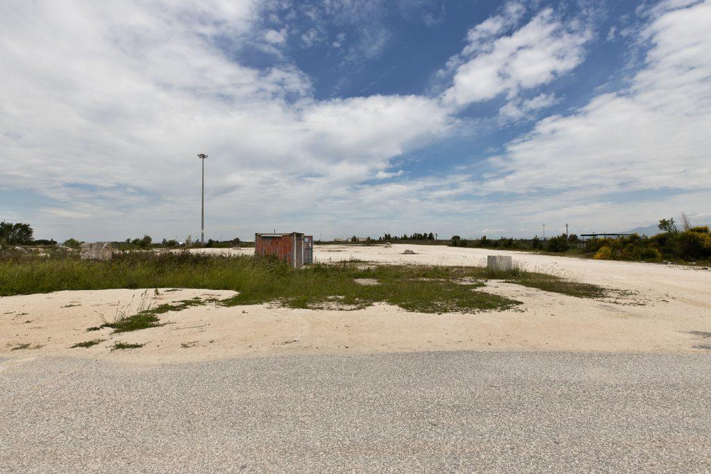 spazi antistanti alla struttura della vela di Calatrava