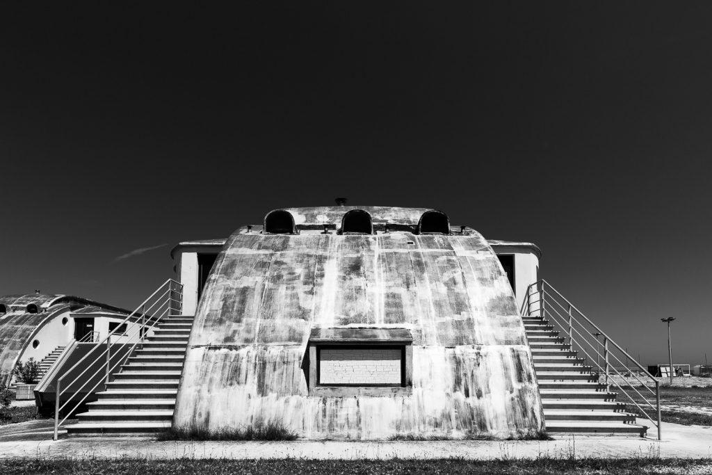 Colonia XXVIII Ottobre - Cattolica (RN) | Dettaglio scale padiglione dormitoi © 2016