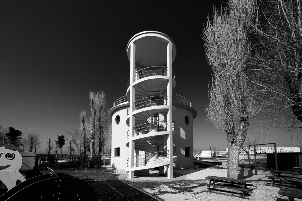 Colonia XXVIII Ottobre - Cattolica (RN) | Edificio con alloggi dei responsabili © 2017