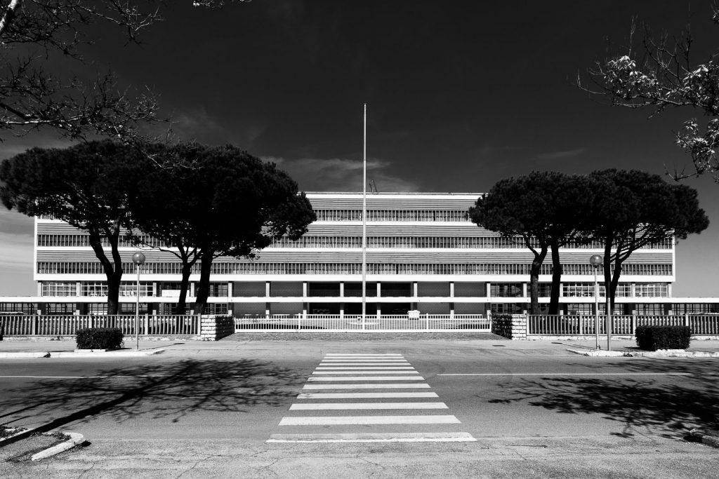 Colonia Agip - Cesenatico (FC) | Prospetto principale a ponente © 2016
