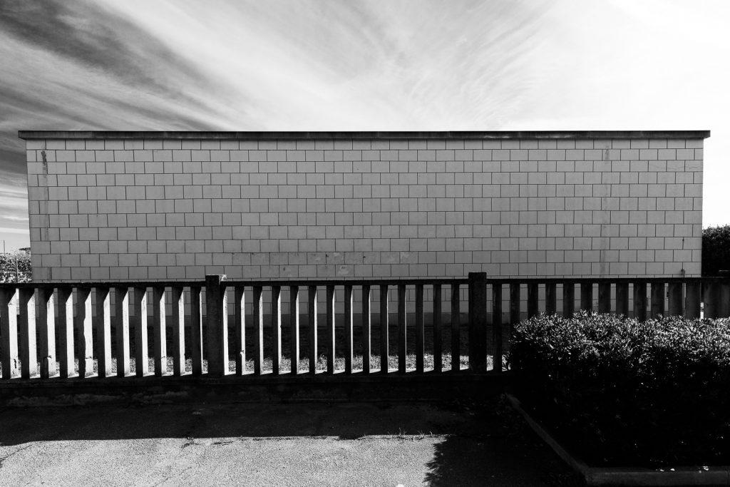 Colonia Agip - Cesenatico (FC) | Dettaglio palazzina di servizio © 2016