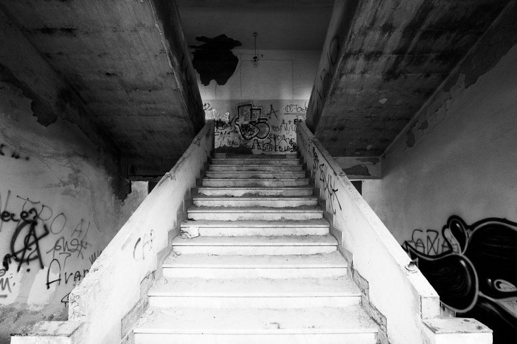 Colonia montana di Rovegno (GE) | Dettaglio scale principali © 2016