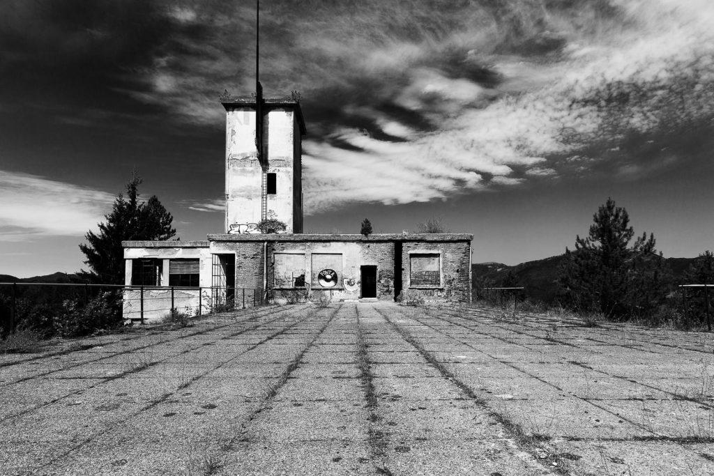 Colonia montana di Rovegno (GE) | Vista dal tetto e torre littoria © 2016