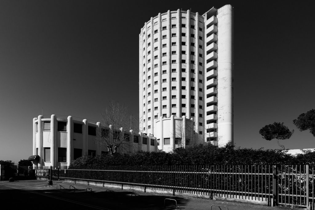 Colonia Fiat - Marina di Massa (MS) | Edificio principale verso levante © 2017