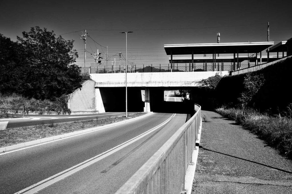 Casalecchio di Reno, stazione Casalecchio Garibaldi (area porta Nord) - Fabio Gubellini © 2020