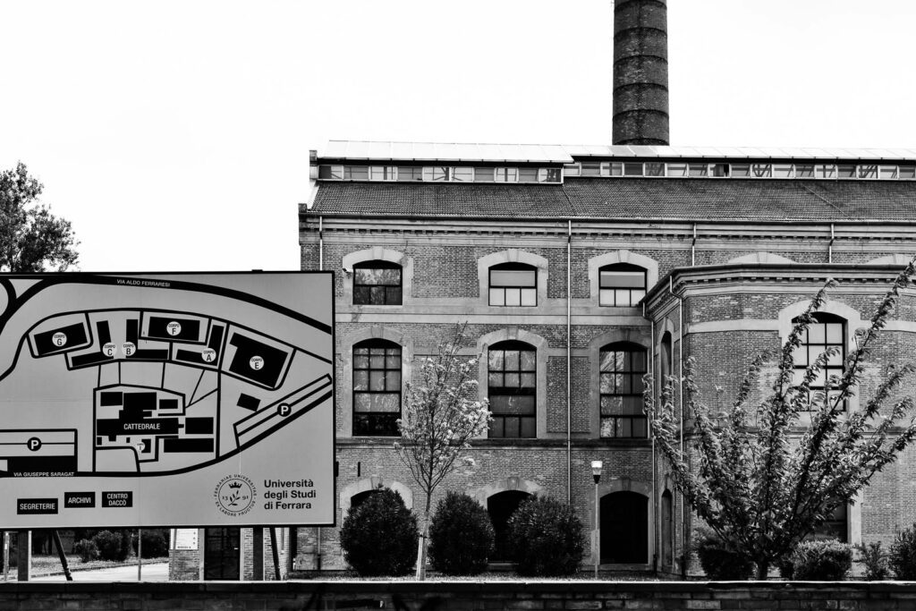 Ferrara, riqualificazione urbana Università degli Studi di Ferrara, area ex zuccherificio - Fabio Gubellini © 2021